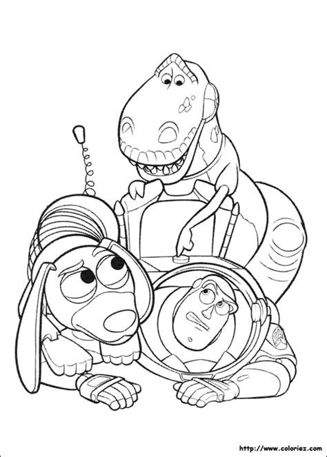 Coloriage Buzz Perd La Boule Story 3 Colouring Pages