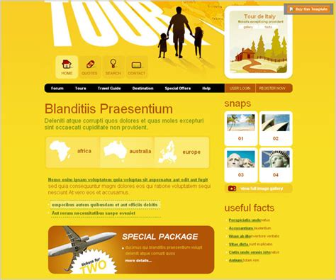 45 Best Free Web Templates To Download Part Ii Dzineblog Com Pest Website Design Templates