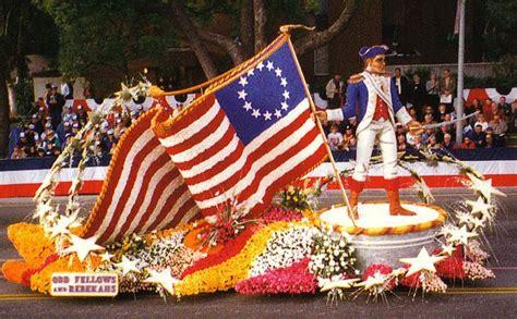new year parade history oddfellows rebekahs float history