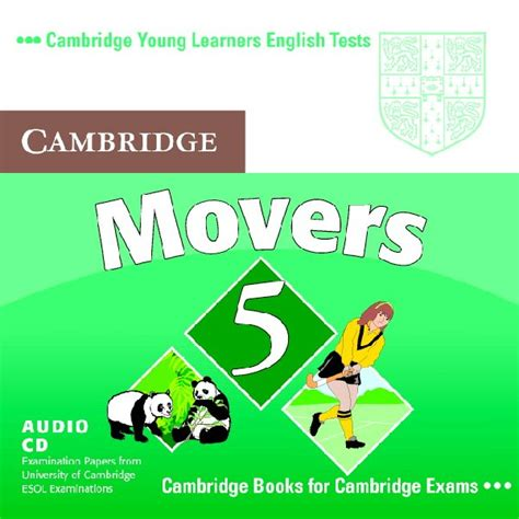 cambridge young learners english tests movers 1 audio cd level 1 examination papers from the cambridge young learners english tests movers 5 audio cd movers by cambridge esol on