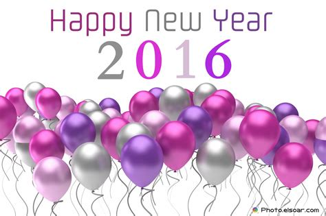new year 2016 happy new year 2016 ballon purple wallpaper 18203