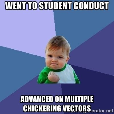 Spongebob Patrick Meme Generator - went to student conduct advanced on multiple chickering