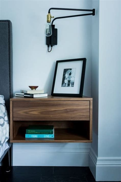 small night stands bedroom small bedroom space design tips using floating nightstand bedroom furniture figleeg
