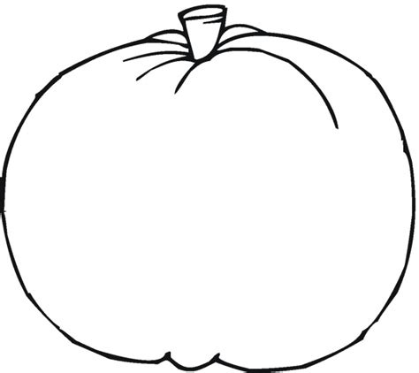 blank pumpkin coloring pages to print pumpkin 8 clipart panda free clipart images
