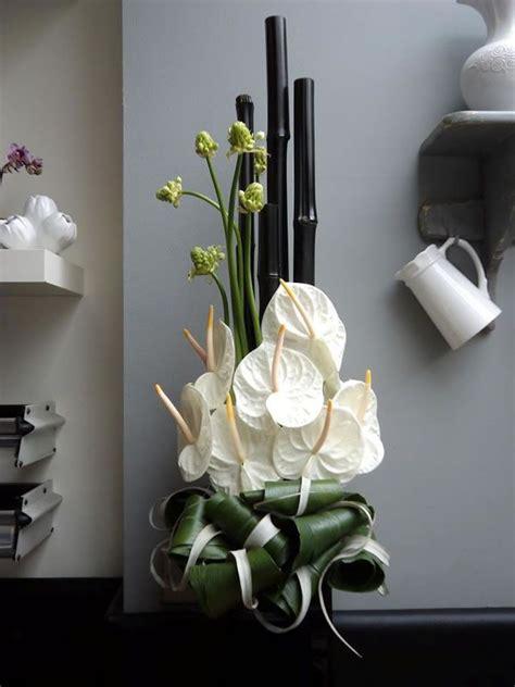 modern flower centerpieces white anthuriums for hotel flowers modern floral design