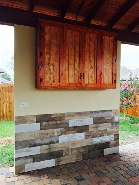 Outdoor TV Cabinet with Bi Fold Doors Building Plan   DIY