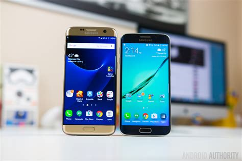 samsung galaxy s7 edge vs galaxy s6 edge android authority