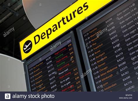 flight arrivals and departures heathrow international airport london flight departure board at heathrow airport terminal 5