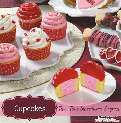 Cupcake Buttercream Birthday Package s day recipes two tone cupcakes decorating