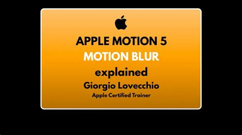 motion 5 typography tutorial apple motion 5 quot motion blur quot tutorial ep 2 ita