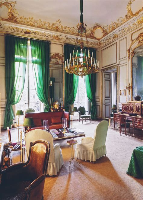 the homes of hubert de givenchy in the south of