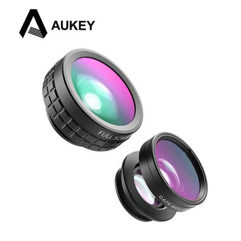 Lensa Wide 04x Gagang Warna aukey lensa fisheye macro wide angle lens pl a1 black