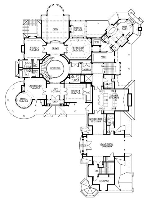 high end home plans high end ranch house plans numberedtype