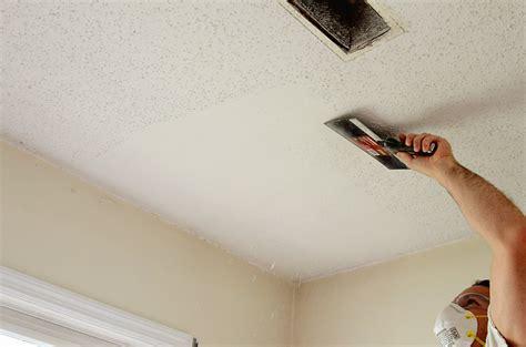 Scrape Ceiling d i y popcorn ceiling removal