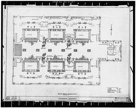 layout of boiler house dodge hamtramck plant new powerhouse description and photos