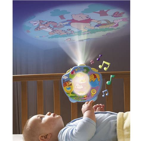 Baby Ceiling Light Show Tomy 2015 Winnie The Pooh Sweet Dreams Lightshow Baby Mobile Cot Projector New Ebay