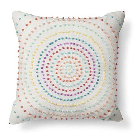 cute bed pillows texture knot circle throw pillow xhilaration pillows