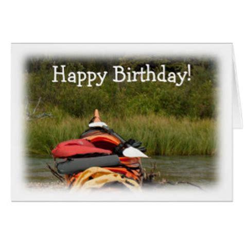 Kayak Gift Card - kayaks birthday cards kayaks birthday card templates postage invitations