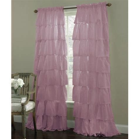 shabby chic ruffled curtains ruffled curtains purple bedrooms and shabby chic on