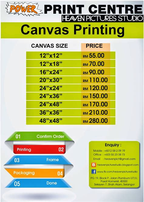 Canvas Promotion hidayu s journal promotion canvas printing