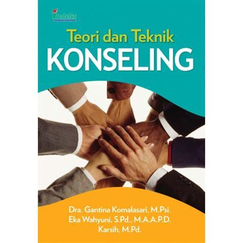 Buku Ajar Web Dasar teori dan teknik konseling