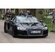 NEW Audi R8 V10 Plus  Black On Sound