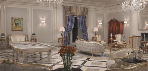 arredamenti di interni di lusso arredamento ville il contract nel classico di lusso