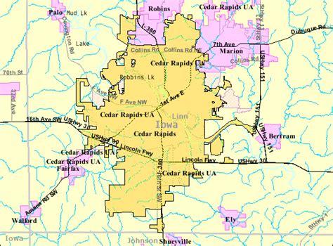 map of cedar rapids iowa file cedarrapids map png wikimedia commons