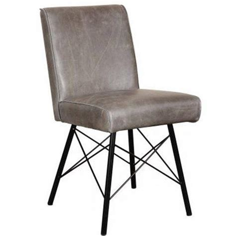 Gray Leather Dining Room Chairs by Best 25 Industrial Dining Chairs Ideas On