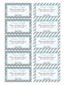 free printable baby shower raffle tickets template printable moustache gray blue baby shower raffle
