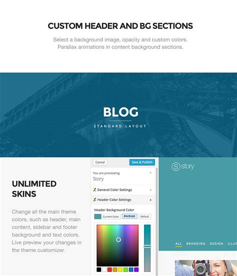 enfold theme header background color story creative wordpress theme for multi purpose