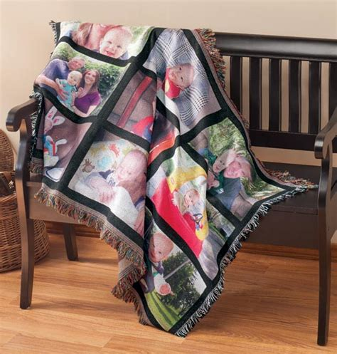 Customized Blankets With Photos by Custom Picture Blanket Custom Photo Blanket Gifts