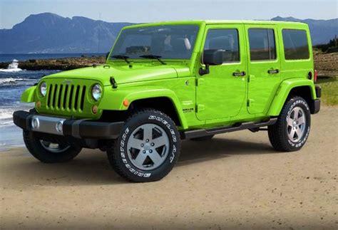 Jeep Wrangler Lime Green Lime Green Jeep Wrangler Furiously Stunning