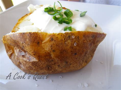 Baked Potatoes by A Cook S Quest Baked Potatoes