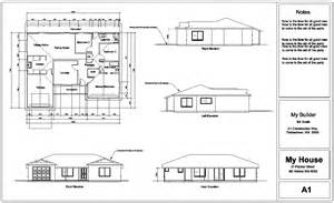elevation floor plan plan elevation section modern house