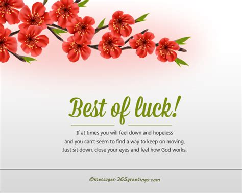 bet of luck best of luck quotes 365greetings com