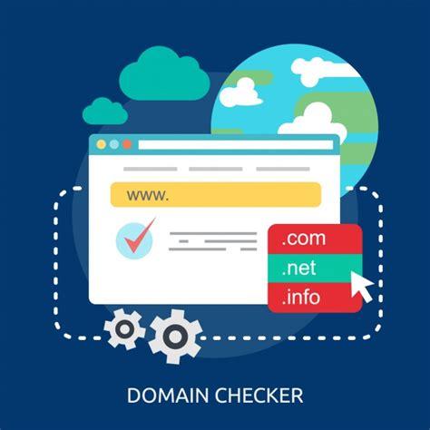 internet domain checker background vector