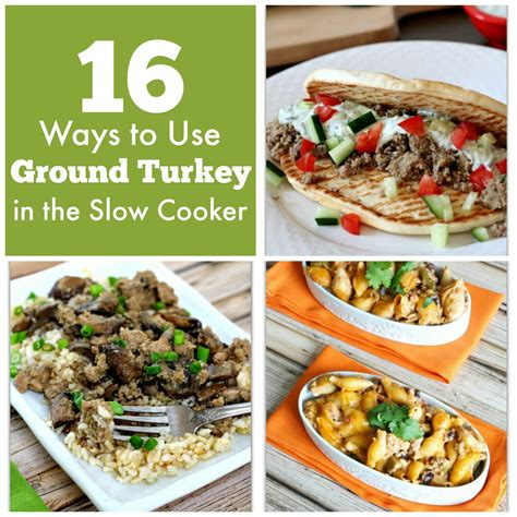 ground turkey recipes for crock pot 16 ways to use ground turkey in the cooker plus 5