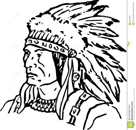 indian chief coloring page indian coloring pages for adults hand drawn indian chief