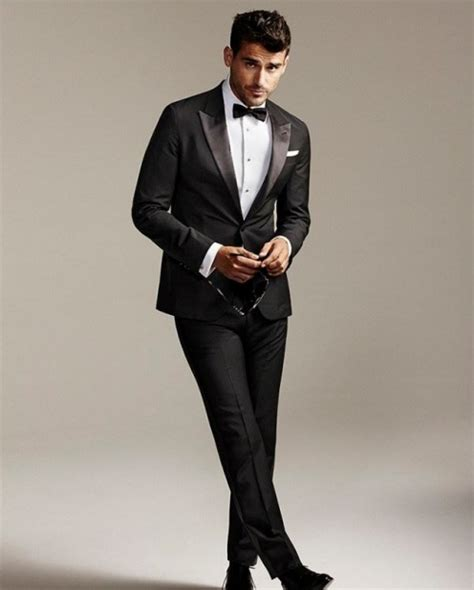 Black Formal Style Suit 41444 fifty ways to wear a classic black suit