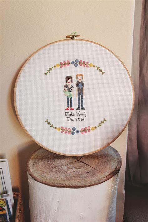 17 best ideas about cross stitch family on
