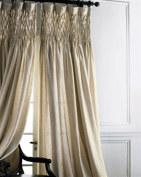 smocked curtains drapes 10 best images about smocking on pinterest sleeve