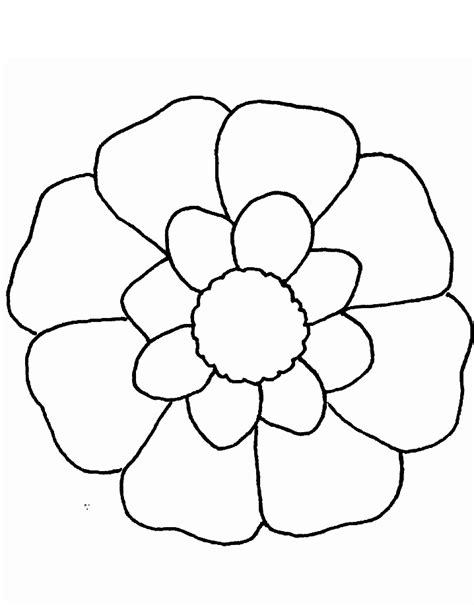 Free Coloring Pages Of Pretty Flower Pretty Flower Coloring Pages