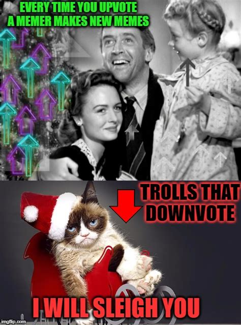 grumpy cat christmas images imgflip