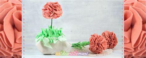 come fare i fiori di pannolenci come fare un grazioso vaso con fiori in feltro e