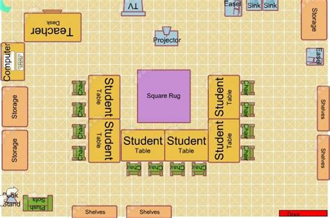 classroom floor plan generator pin by amanda clements on art classroom inspirations