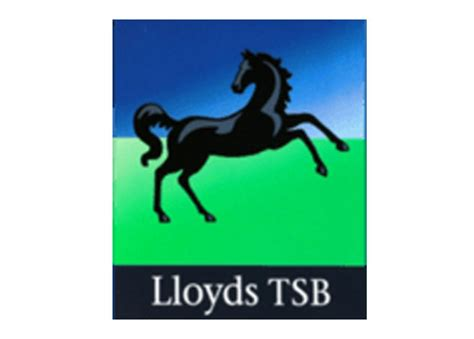 lloydst bank pin lloyds tsb logo on