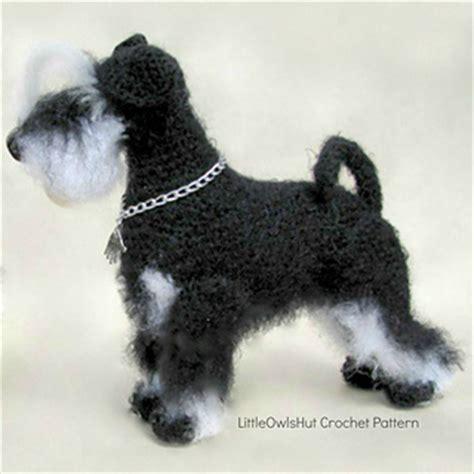 dogs 101 schnauzer ravelry 101 miniature schnauzer pattern by littleowlshut