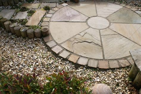 Laying A Circular Patio by Autumn Garden Projects Growing Family
