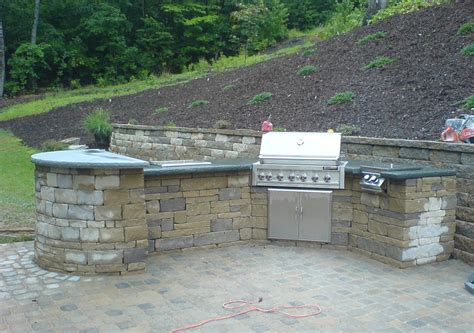 build pit base tips for building your outdoor kitchen ask the landscape